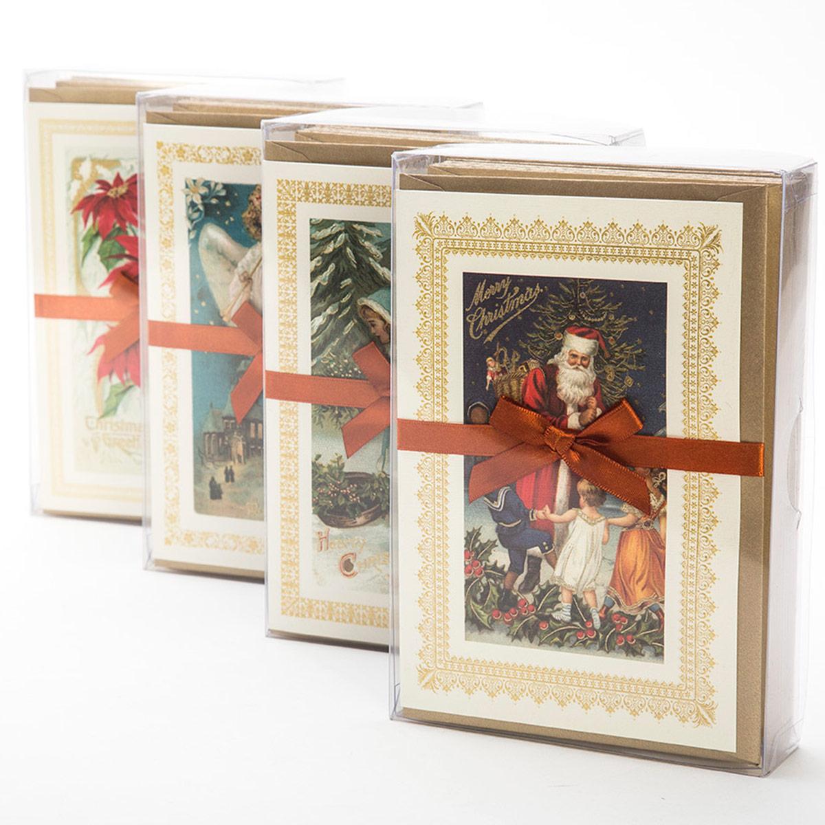 Carta natalizia di lusso in box