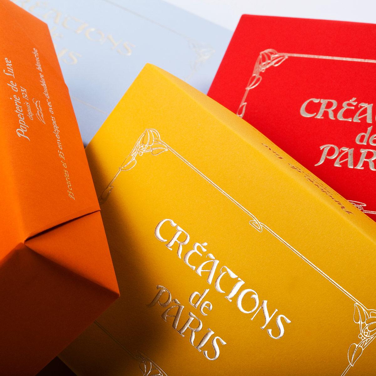 Cartoleria di lusso colori caldi