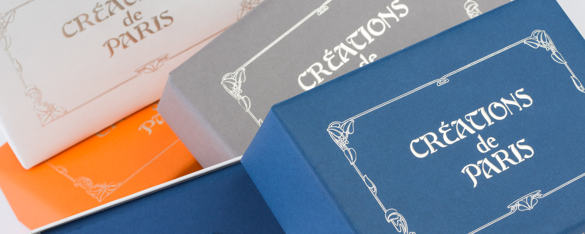 Cartoleria di lusso Creation de Paris